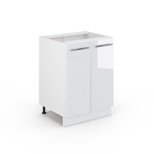 Vicco Unterschrank »60 cm Weiß Küchenzeile Fame«, Weiß