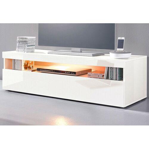 Tecnos Lowboard, Breite 130 cm oder 200 cm, weiß