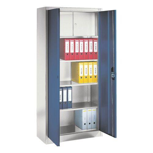 Otto Office Aktenschrank mit innenliegendem Schließfach, blau