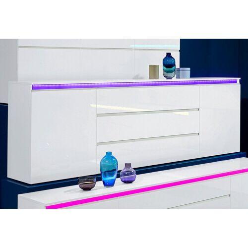 Tecnos Sideboard »Magic«, Breite 240 cm, weiß hg