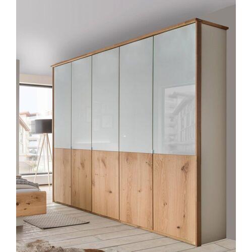 WIEMANN Kleiderschrank »Chicago« mit Echtholzfurnier und Glas