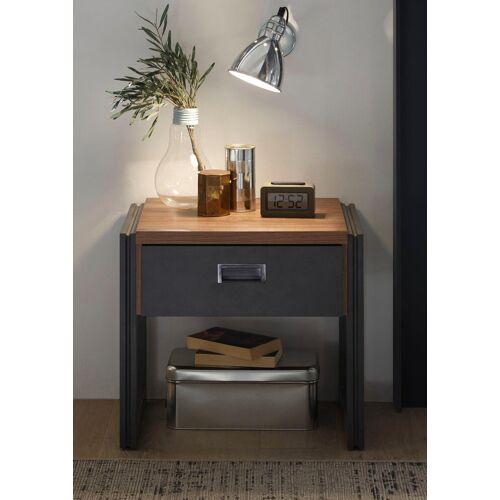 Home affaire Nachttisch, Breite 55 cm, in angesagtem Industrial Look