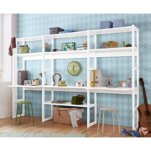 Hoppekids Jugendzimmer-Set »Skagen«, (Set, 20-tlg), inkl. Schreibtisch