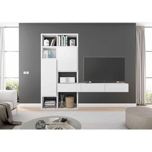 Wohnwand »TORO 671«, Creme Weiß