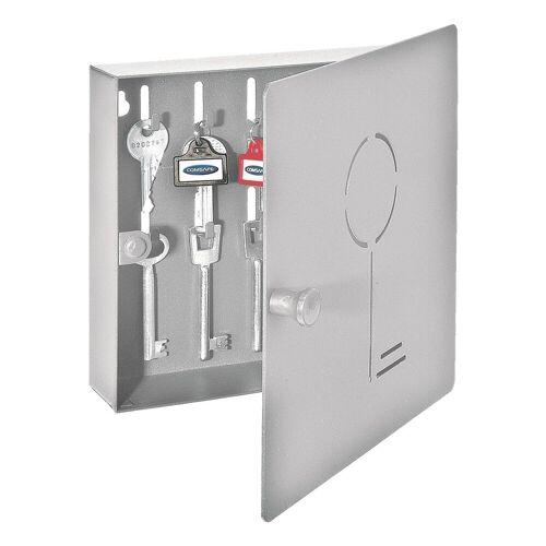 ROTTNER Schlüsselkassette »Key Collect 10«, silberfarben
