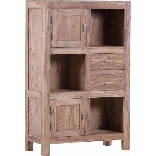 Gutmann Factory Highboard »Inka«, aus massivem Sheesham Holz, Höhe 140 cm