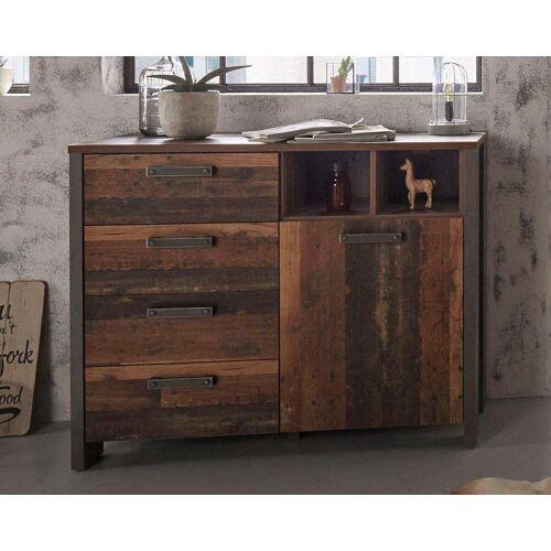 Kommode, Breite 106 cm, Old wood Vintage