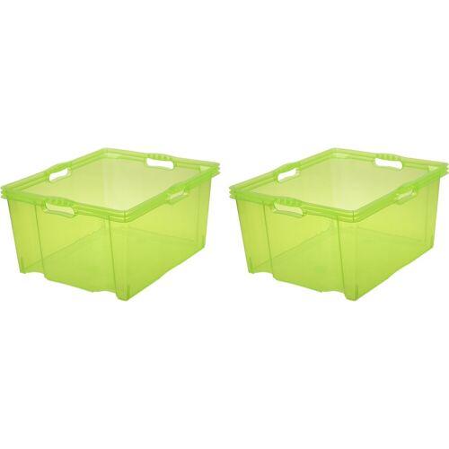 keeeper Aufbewahrungsbox »franz« (Set, 2 Stück), grün