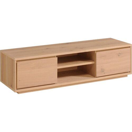 Home affaire Lowboard »Stockholm«, mit Echtholzfurnier, grifflos, Breite 150 cm