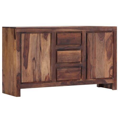 vidaXL Sideboard »Sideboard 140 x 40 x 80 cm Massivholz«