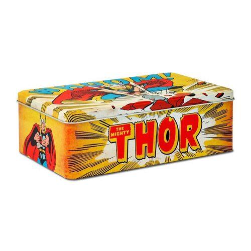 LOGOSHIRT Blechdose mit Thor-Motiv, gelb