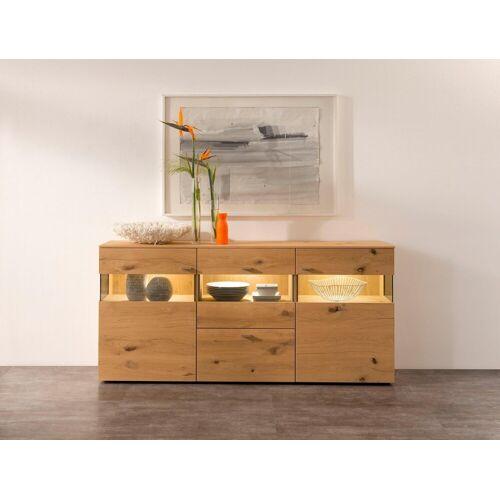 GWINNER Sideboard »ANZIO HOLZ 142«, Breite 195 cm