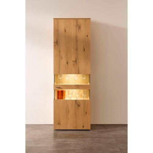 GWINNER Vitrine »ANZIO HOLZ« Höhe 195, 6 cm
