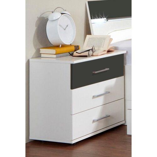 Wimex Nachttisch »Cheep«, weiß/graphit