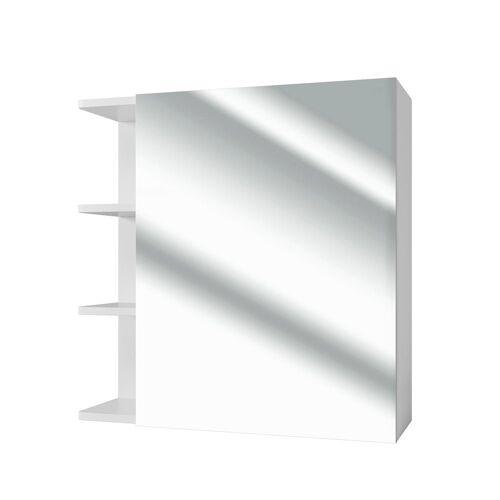 Vicco Badezimmerspiegelschrank »Badspiegel FYNN 62 x 64 cm weiß - Spiegel Spiegelschrank Wandspiegel«