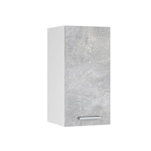 Vicco Hängeschrank »30 cm Küchenzeile Küchenunterschrank Küchenmöbel R-Line«, Beton