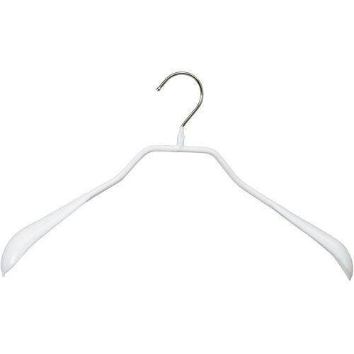 MAWA Kleiderbügel »Bodyform 42/L«, (Set, 10-tlg), weiß
