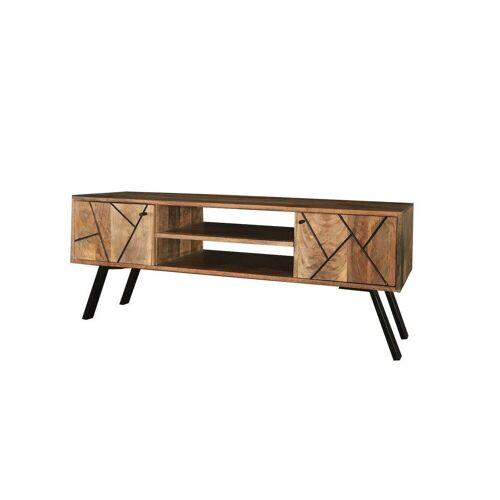 KAWOLA TV-Board Holz mit Türen »ARIA«, Holzfarben