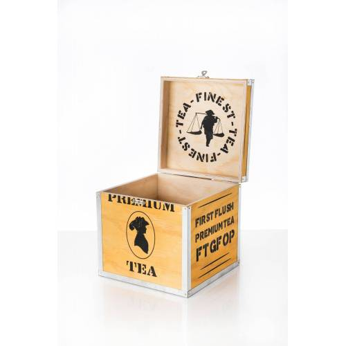 Creano Aufbewahrungsbox, ideal für Tee und Accessoires