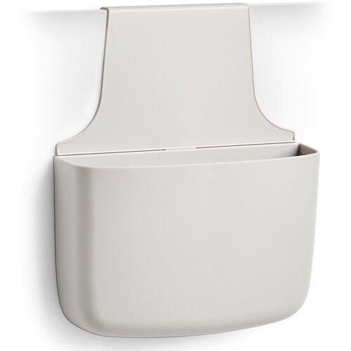 Zeller Present Aufbewahrungstasche, mit Aufhänger, grau