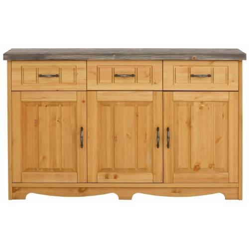 Home affaire Sideboard »Trinidad Antique«, natur/grau