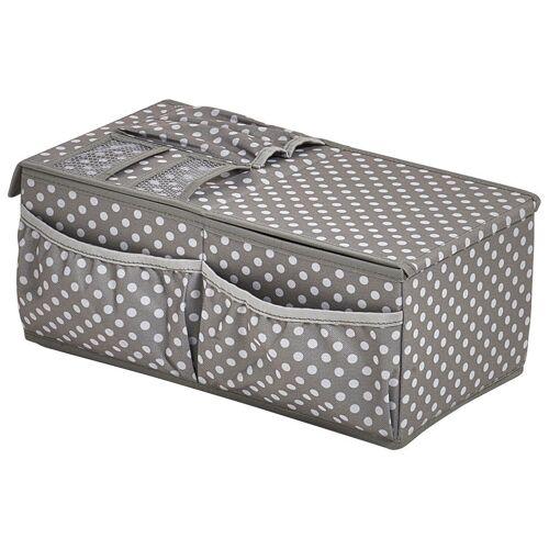 Zeller Present ZELLER Organizer »Geschenkverpackungs-Organizer«, grau/weiß