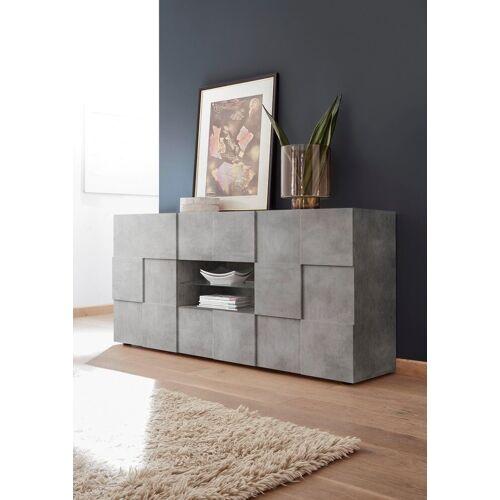 LC Sideboard »Dama«, Breite 181 cm, beton-optik