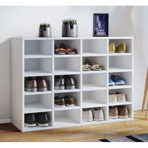 VCM Schuhschrank »Schuhregal 20 Paar Schuhe«, Hinsal L: Weiß