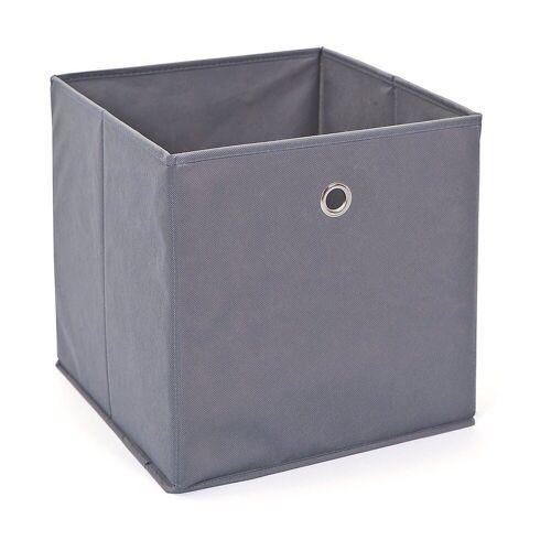 Inter Link Aufbewahrungsbox »Faltbox, grün«, grau
