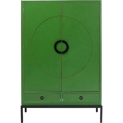 KARE Kommode »Kleiderschrank Disk Grün«