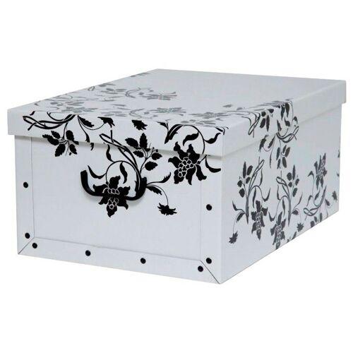 Kreher Aufbewahrungsbox »Barock Weiß«, weiß