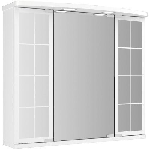 jokey Spiegelschrank »Landhaus Binz«, weiss, 67,5 cm Breite, weiß