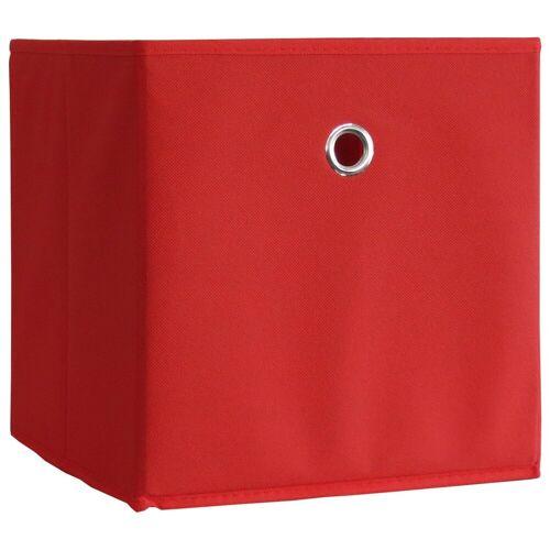 "VCM Faltbox »2er-Set Faltbox ""Boxas«, Rot"