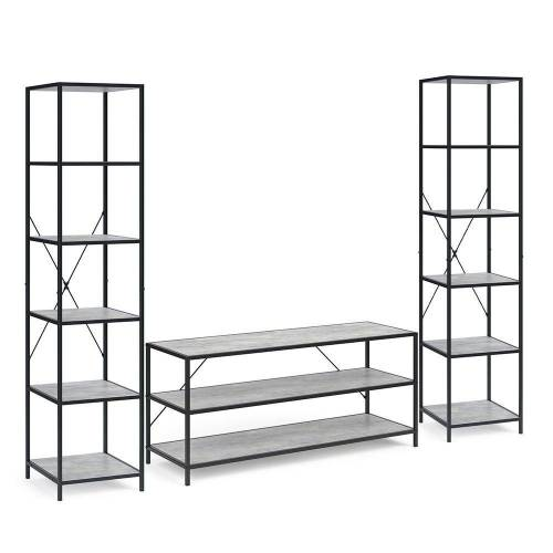 Vicco Standregal »Loft Set Fyrk Bücherregal Fernsehtisch Sideboard Wandregal Holz«