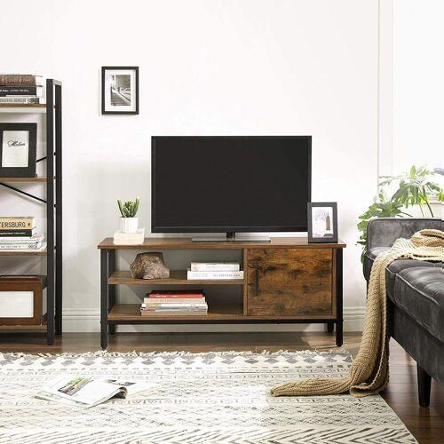 VASAGLE Lowboard »LTV42BX«, TV-Lowboards, für Fernseher bis 48 Zoll, vintage