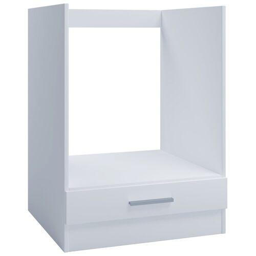 VCM Backofenumbauschrank »Ofenschrank OS 1 für Einbauherd 60cm weiß«
