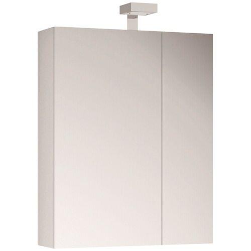 ALLIBERT Spiegelschrank , Breite 60 cm mit LED-Beleuchtung, weiß