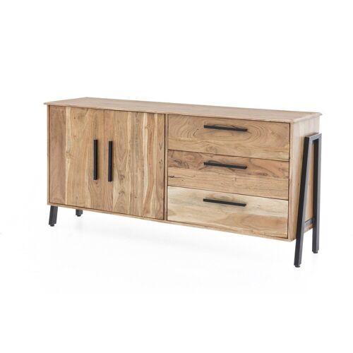 KAWOLA Sideboard »SELMO«, aus Akazienholz