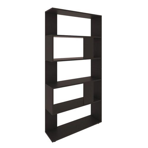 Vicco Raumteiler »Schwarz Regal 5 Fächer 80 x 162,6 x 23,6 cm (BxHxT) modern«