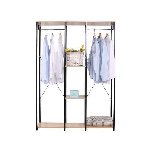 HTI-Line Kleiderschrank »Begehbarer Kleiderschrank Mona XL« Pflegeleichte Oberflächen