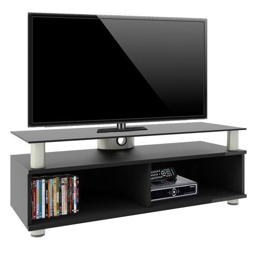 """VCM TV-Board »TV-Lowboard"""" Clunis""""«, Schwarzlack"""