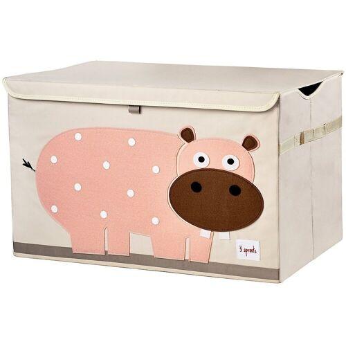 3 Sprouts Aufbewahrungsbox »Aufbewahrungskiste Krokodil, 38 x 61 cm«, rosa