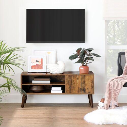 VASAGLE Lowboard »LTV09WT LTV09BX«, TV-Lowboards, TV-Regal für Fernseher bis zu 43 Zoll, vintage, vintage