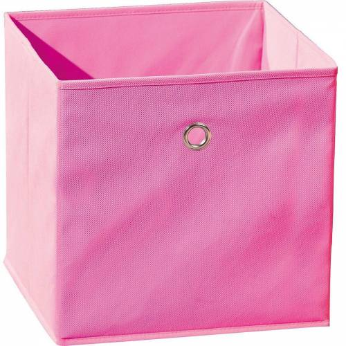Inter Link Aufbewahrungsbox »Faltbox, grün«, rosa