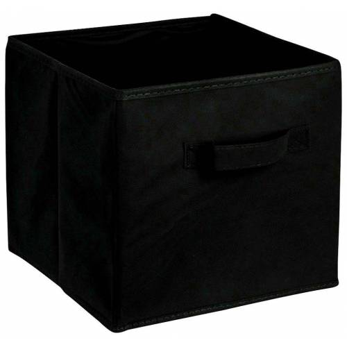 ADOB Aufbewahrungsbox »Faltbox«, Faltbox mit Griff, schwarz