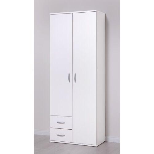 PROCONTOUR Mehrzweckschrank »2 Türen + 2 SK«, weiß