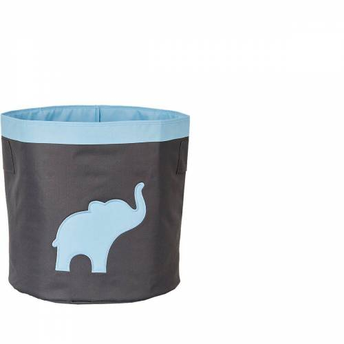 STORE IT! Aufbewahrungsbox »Aufbewahrungskorb Maxi Stern«, blau/grau