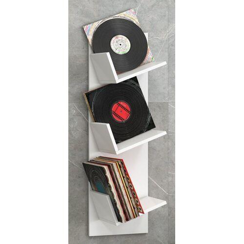 """VCM CD-Regal »Schallplatten-Regal """"Sulda""""«, Weiß"""