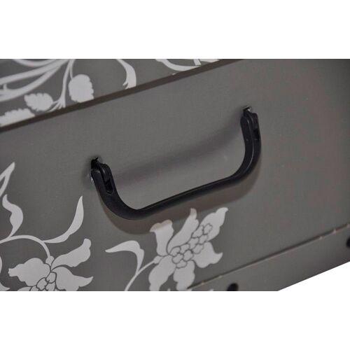 Kreher Aufbewahrungsbox »Barock Grau«, grau