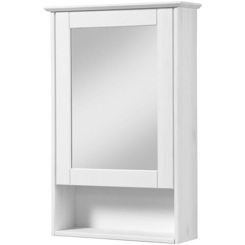 welltime Spiegelschrank »Venezia Landhaus« Breite 42 cm, mit Spiegeltüren, weiß